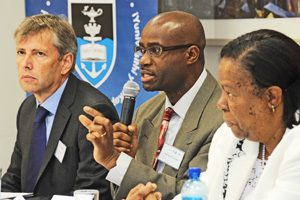 Prof. Chibale (middle)