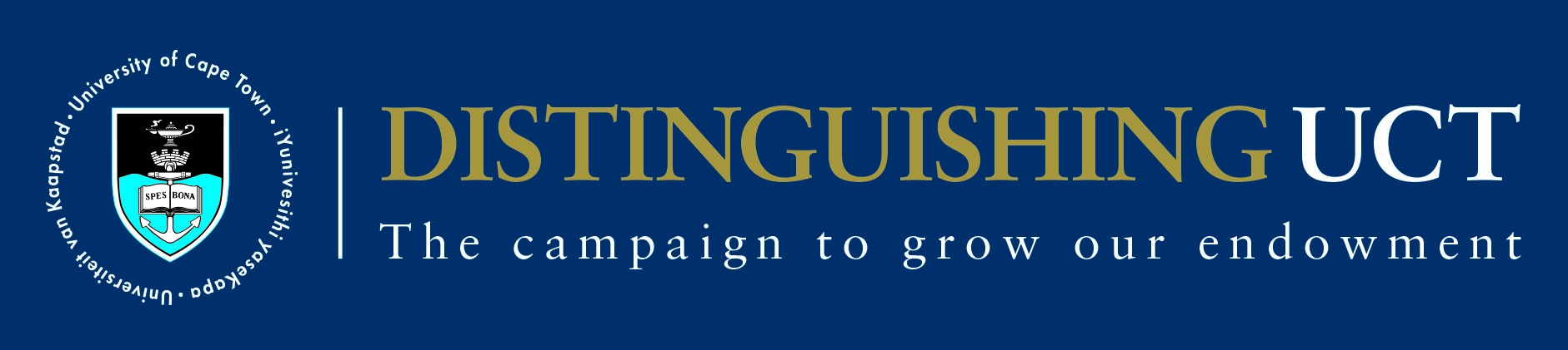 'Distinguishing UCT' Annual Appeal