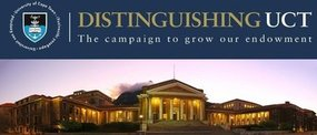 Support the Campaign to Grow UCT's Endowment