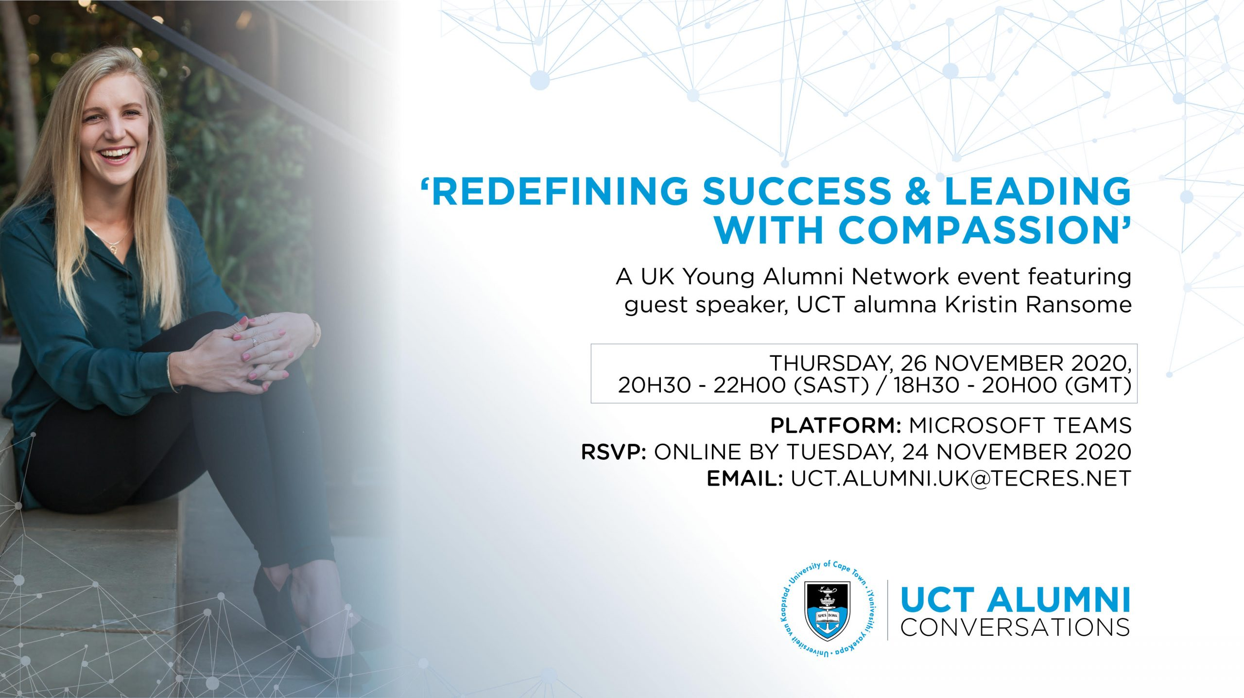 UK Young Alumni Network Event – 'Redefining Success & Leading with Compassion'